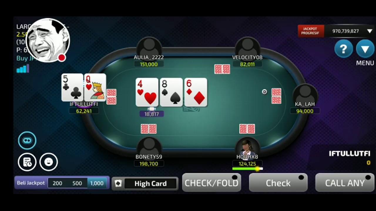 Epic Comeback Topup Chip Dan Langsung Sapu Bersih 6juta All In Meja Gold Idn Poker Online Z Wmarmenia Com