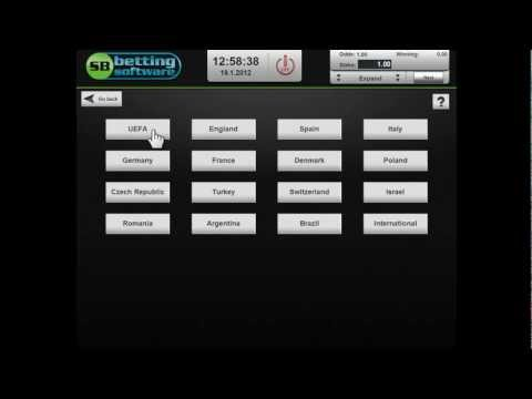 SB Betting Software : solution for betting shops - betting terminals