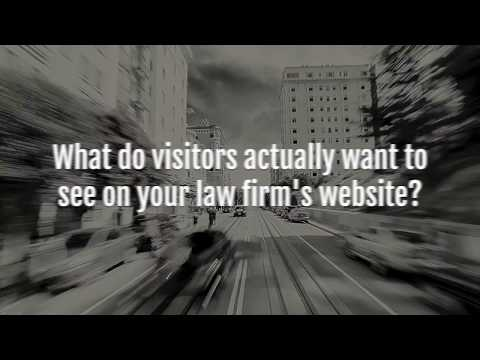 Law Firm SEO Series: What Do People Want to See on Your Law Firm's Website?