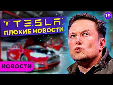 Плохие новости для Tesla. Сломанный интернет от Fastly. Deutsche Bank про инфляцию / Новости