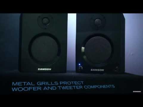 Samson MediaOne BT - Active Studio Monitors with Bluetooth®