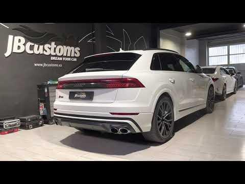 Audi SQ8 Diesel con nuestro sistema completo JB Customs