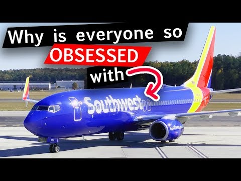 """Why People """"Luv"""" Southwest Airlines"""