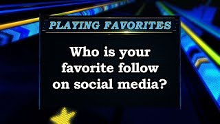 Playing Favorites: Who do you like to follow on social media? Sports Stars of Tomorrow
