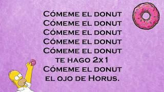 Cómeme el donut | Letra completa