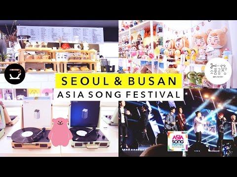 Seoul & Busan Vlog 🎤 Asia Song Festival, Doll Clothing, Kamong, Viva Polo, COEX Artium, etc.
