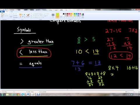 Comparing Numbers - Grade 2
