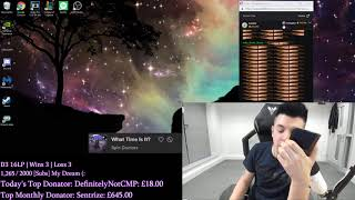 After streaming in silence for the last 3 hours, GreekGodx called Gross Gore to cheer him up
