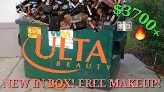 $3,700+ HUGE ULTA DUMPSTER DIVING HAUL! BRAND NEW IN BOXES! (insane...)