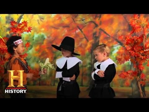 Kids History: The First Thanksgiving   History