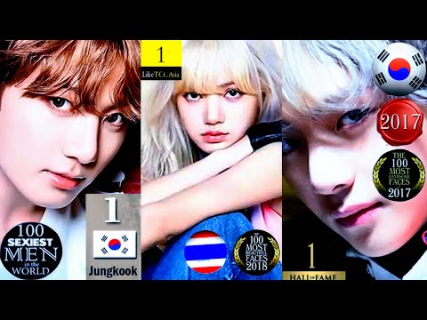 BTS × BLACKPINK : Most Beautiful & Handsome Ranking