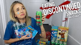 EATING DISCONTINUED SNACKS *EMOTIONAL*