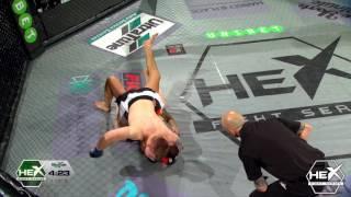 Hex Fight series 9 - Jim Crute winner via SUB