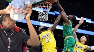 Lebron gets DUNKED ON!? Los Angeles Lakers vs Boston Celtics Full Game Highlights