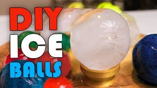 How To Make ICE BALLS!