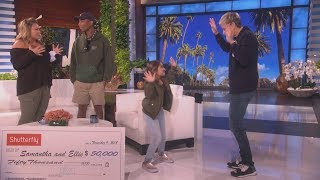 Behind the Scenes: Ellie's Dance Party with Ellen and Pharrell!