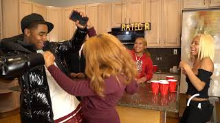 Chris & Debo FEAR PONG CHALLENGE w/ Johnston Twins , Eli Unique & Neveah👀