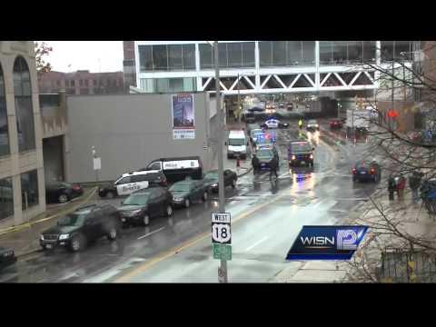 Milwaukee police kill gunman inside transit center
