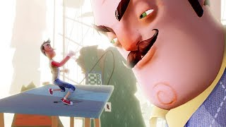 IT'S TIME WE END THIS!! || Hello Neighbor (BETA 3 BOSS ENDING)