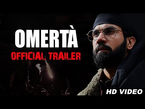 Omertà Official Trailer - Rajkummar Rao - Hansal Mehta