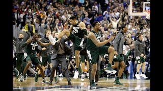 Watch the final 7 minutes of Michigan State's win over Duke