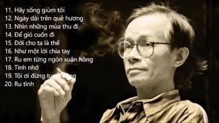 Top 10 bài hát của Trịnh Công Sơn được yêu thích nhất - Ca sĩ: Khánh Ly - Phần 2