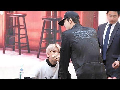 180422 엑소 첸백시(EXO-CBX) 팬사인회 응원온 세훈 (Sehun) Fansign Event 4K 직캠 by 비몽