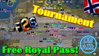 7 Day tournament, Join Up & Winner Get's The Elite Royal Pass +!!!    English/ Norsk Gameplay 免費看 **