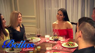 Nikki feels uncomfortable during a formal dinner | Total Bellas Exclusive