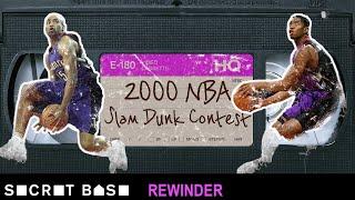 Vince Carter's iconic Dunk Contest deserves a deep rewind | 2000 NBA Slam Dunk Contest