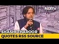 Shashi Tharoor calls PM Modi as scorpion