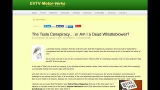 The Tesla Conspiracy - was Jack Rickard shot down in broad daylight?