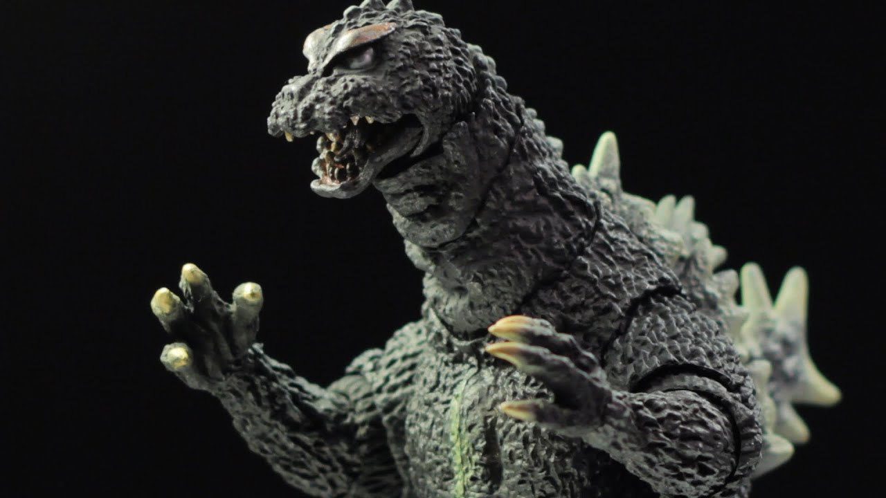 S.H. Monster Arts Godzilla (1964) Review - YouTube