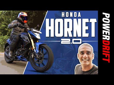 Giveaway Alert!   Honda Hornet 2.0   First Ride Review   PowerDrift