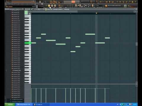 tutorial de como hacer una melodia y reggaeton romantico en fl studio
