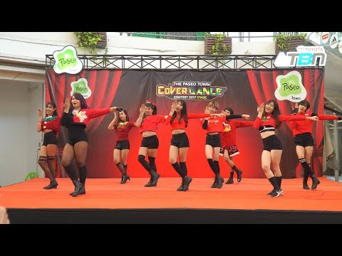 171223 HeeH cover KPOP - KNOCK KNOCK + Heart Shaker + Catch Me @ Paseo Cover Dance 2017 (Final)