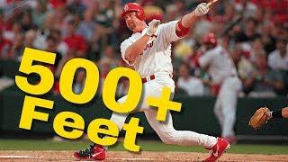 MLB: 500+ Foot Homeruns