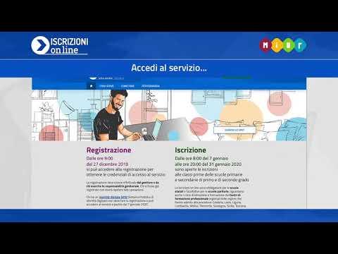 Iscrizioni online 2020/21 - 01 Come registrarsi