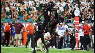 Miami Hurricanes Highlights vs Virginia Tech