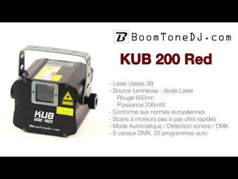 Vidéo BoomToneDJ - KUB 200 Red