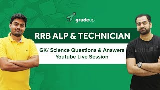 Railways ALP  2018 most important Questions| General Knowledge & Science| Score Full in GS