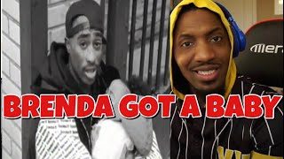 I almost cried watching this again!!! | 2Pac - Brenda's Got A Baby | REACTION