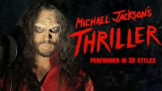 Michael Jackson – Thriller | 20 Style Halloween Cover