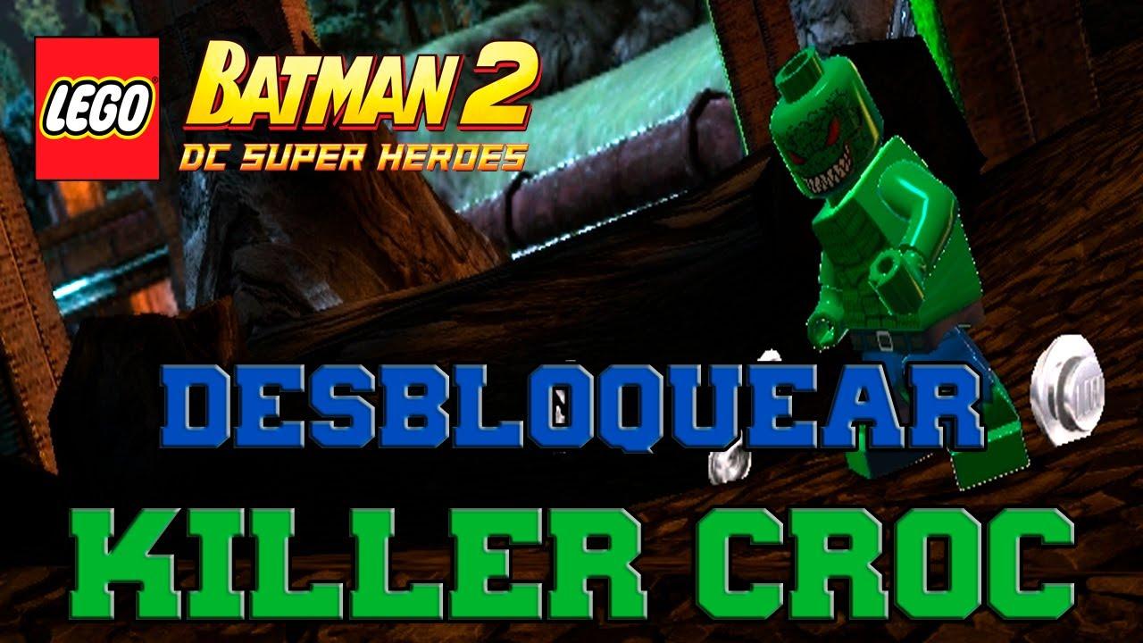 LEGO Batman 2: DC Super Heroes - Desbloqueando Personajes ...