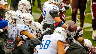 Massive brawl erupts between Tulsa & Mississippi State at Armed Forces Bowl | ESPN College Football
