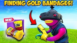 *RARE* FINDING GOLD BANDAGES! - Fortnite Funny Fails and WTF Moments! #591