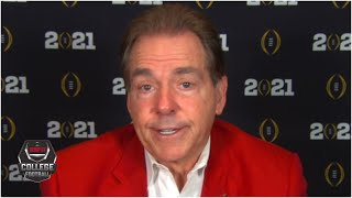 Nick Saban reflects on Alabama's undefeated run to a National Championship  College Football on ESPN