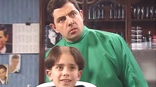 Hair today gone tomorrow   Funny Clips   Mr Bean Official