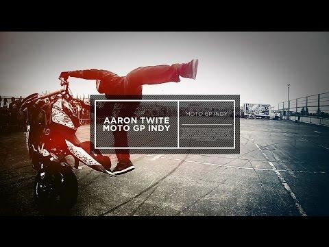 Aaron Twite @MotoGp Indy 2014