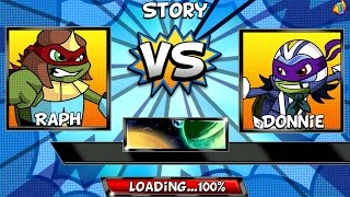 Super Brawl 4 - RAPH AS CROGNARD THE BARBARiAN! (Nickelodeon Games)